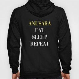 Anusara Eat Sleep Repeat Hoody