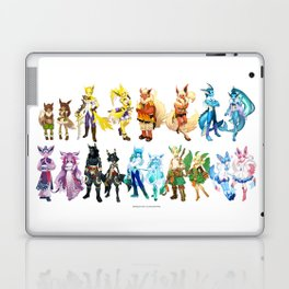 Eeveelutuions Complete Artwork Laptop & iPad Skin