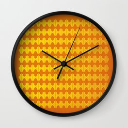 pattern on repeat 01 Wall Clock