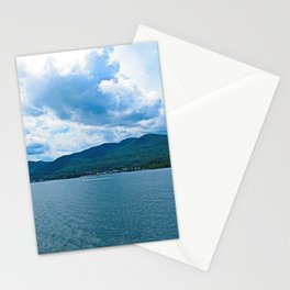Over the Mountains Stationery Cards