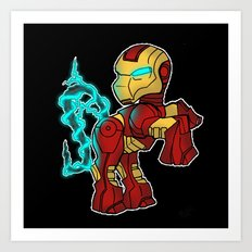 My Little Tony Art Print