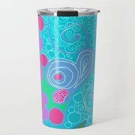 Floral Fantasy No. 1 Travel Mug
