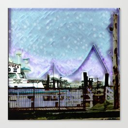 Winter Day at theBay Canvas Print