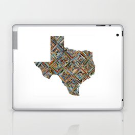 Map of Texas Laptop & iPad Skin