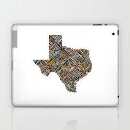 Map of Texas Laptop & iPad Skin
