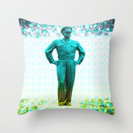 general, Eisenhower Throw Pillow