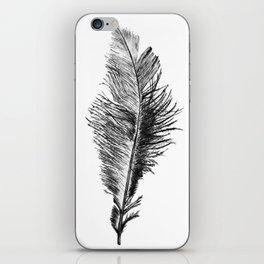 Free Falling Negative iPhone Skin