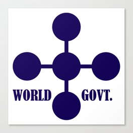world government Canvas Print