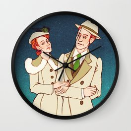 Beyond the Sea Wall Clock