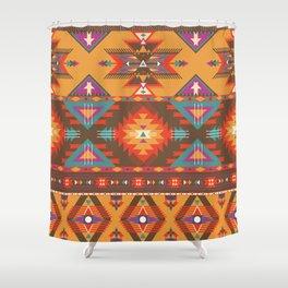 Aztec 1 Shower Curtain