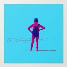 En la orilla Canvas Print
