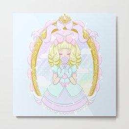 Sweet Candy Girl Metal Print