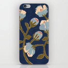 Blue Perennial iPhone Skin
