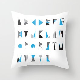 geo type Throw Pillow