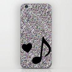 Music-11  iPhone & iPod Skin