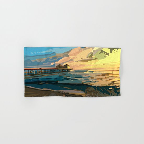 summer beach 1 Hand & Bath Towel