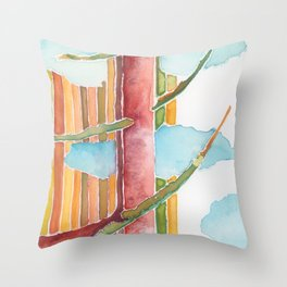 Between Throw Pillow