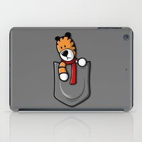 hobbes iPad Cases featuring Pocket Pal by adho1982