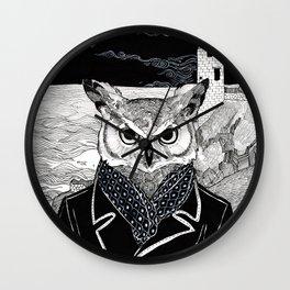 The Cryptids - Owlman Wall Clock