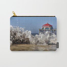 Whitewater noodles, blue sky & HB Pier Carry-All Pouch