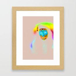 I'm not dead Framed Art Print