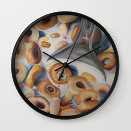 Cheerio Wall Clock