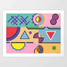 Mechanically Minded Art Print