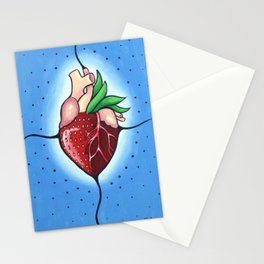 The Heart Berry Stationery Cards