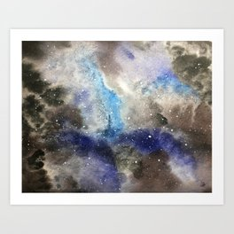 Space Exploration Art Print