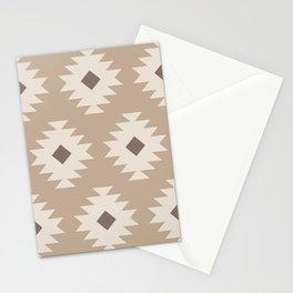 Southwestern Pattern 525 Beige Stationery Cards