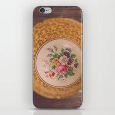 Gold Teacup iPhone & iPod Skin