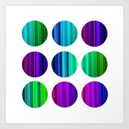 COLOR 2 Art Print