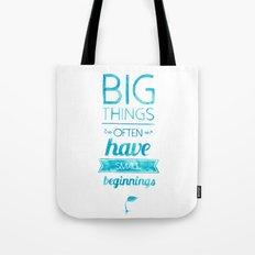 Big Things Tote Bag