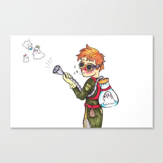 Ghost Hunter Canvas Print