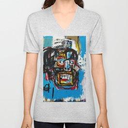 Jean-Michel Basquiat, Untitled Skull (1982) - Society6 Best Artwork  Home Decor Unisex V-Neck