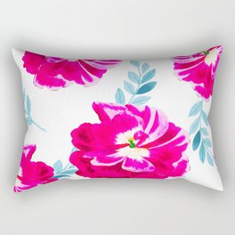Fluorescent Florals #society6 #decor #buyart Rectangular Pillow