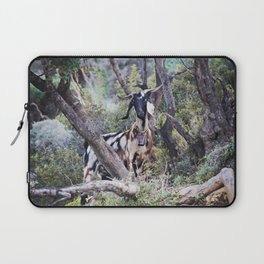 Goat on a Hill Laptop Sleeve