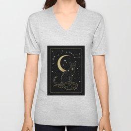 The Cat Constellation Unisex V-Neck