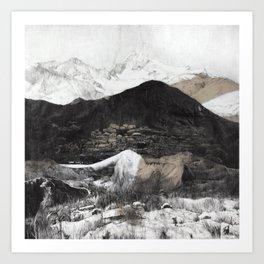 Mountain oh mountain II Art Print