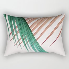 Palm Leaves, Tropical Plant Rectangular Pillow
