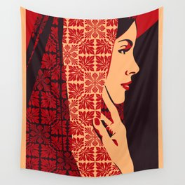 ASIANWOMAN II Wall Tapestry