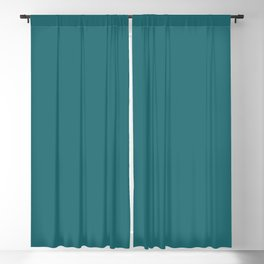 Best Seller Teal / Aqua / Turquoise Single Solid Color - Accent Shade Inspired By Behr Paint Antigua Blackout Curtain