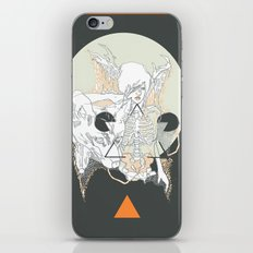 moon stone iPhone & iPod Skin