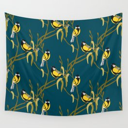 view in the garden Wall Tapestry
