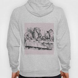 Blush pink - mad hatter's tea party Hoody