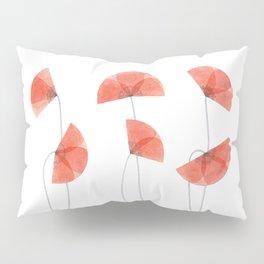 Flanders poppy, corn poppy, flower Pillow Sham