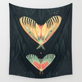 Moth Wings I Wall Tapestry