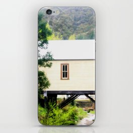 A fire station built over a Creek iPhone Skin