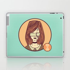 self-portrait (colored) Laptop & iPad Skin