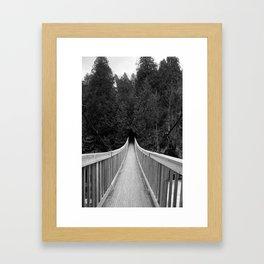 Into the Shadows Framed Art Print